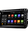 dab android 5.1 carro sistema de DVD player multimidia Wi-Fi 8 polegadas para o foco VW MAGOTAN 2007-2011 golf 5 de golfe de 6 caddy polo