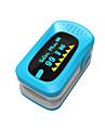 ying shi finger pulsoximetrar manuell LCD-display med röst / minne batteri vit / röd / grön / blå / orange