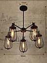 Lampe suspendue ,  Rustique Retro Peintures Fonctionnalite for Designers MetalSalle de sejour Chambre a coucher Salle a manger