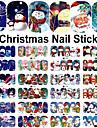 12 Nail Sticker Art Autocollants de transfert de l\'eau Maquillage cosmetique Nail Art Design