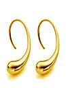 Boucles d\'oreille goujon Bijoux Or Goutte Or Argent Bijoux Mariage Soiree Quotidien Decontracte Sports 1 paire