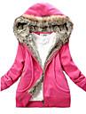 Women\'s Cute Fleece Hoodie Coat