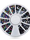 1st nagel konst Decoration Strass Pearls skönhet Kosmetisk nagel konst Design