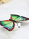 3pcs creatif colore pate Veilleuse lampe papillon decoratif bebe lampe de chevet (couleur aleatoire) avec batterie