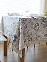 Andra Toile Dukar , Linne Material Hotel Dining Table / Tabell Dceoration