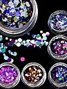 1bottle Nail Art Decoration strass Perles Maquillage cosmetique Nail Art Design