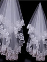 Wedding Veil One-tier Fingertip Veils Tulle Lace