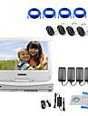 strongshine® IP kamera med 720p / IR / vattentät och NVR med 10.1inch lcd combo kit