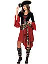 Costumes de Cosplay Costume de Soiree Rouge Terylene Accessoires de cosplay Halloween Carnaval Le Jour des enfants