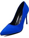 Homme-Decontracte-Noir Bleu Rouge-Talon Aiguille-Confort-Chaussures a Talons-Cachemire