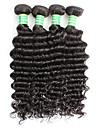 Remy de Bresilien de cheveux Tissage Naturel Remy Ondulation profonde Remy Human Hair Tissages