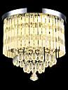 Montage du flux ,  Contemporain Traditionnel/Classique Rustique Plafonnier pour Ilot de Cuisine Chrome Fonctionnalite for Cristal LED