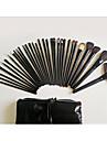 32pcs ensembles de brosses Poil Synthetique / Cheval Professionnel / Couvrant / Synthetic / Ecologique / Cheveux de Cheval / Portable Bois