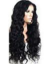 vierge de cheveux humains peruvian 12-26 pouces densite nouveau style hotsale 130% 13 * 6 avant de dentelle perruque couleur naturelle