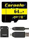 Caraele 64GB Micro SD-kort TF-kort minneskort UHS-I U1 class10
