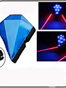 Eclairage de Velo / bicyclette / Lampe Arriere de Velo / Eclairage securite velo / Ecarteur de danger LED / Laser - CyclismeEtanche /