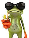 ziqiao grenouilles 3d autocollant de voiture impermeable voitures gecko drole&motos sticker