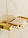 Tvålkopp Ti-PVD Väggmonterad 19cm*10cm*4cm(7.5*3.9*1.6 tum) Mässing Modern