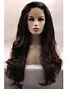 avant de dentelle synthetique perruques perruques cosplay perruques synthetiques vague naturelle auburn sombre