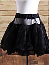 Jupe Lolita Classique/Traditionnelle Lolita Cosplay Vetrements Lolita Noir Blanc Couleur Pleine Lolita Court Jupe Pour Satin