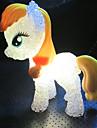 1pcs 5.5cm * 14cm decoloration colore poney mignon conduit peu la nuit allume le jouet enfants cadeau de vacances