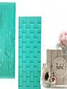 14.6Cm*6.8Cm*0.3Cm Decorer Outil Pour Gateau Plastique Bricolage / Haute qualite / Papier a cuire / Ecologique