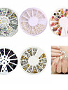 5pcs Nail Art Decoration strass Perles Maquillage cosmetique Nail Art Design