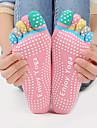 Femme Chaussettes Chaussettes de Sport Chaussettes orteils Chaussettes Antiderapantes Yoga PilatesRespirable Vestimentaire