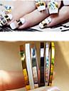 Punk - Finger - Nagelsmycken - av PVC - 5st - styck 2mm 、3mm - cm