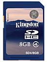 Kingston 8GB SD Kort minneskort class4