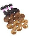 Nyans Peruanskt hår Kroppsvågor 3 delar hår väver