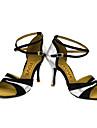 Chaussures de danse(Noir Bleu Rouge Argent Or) -Personnalisables-Talon Personnalise-Paillette Brillante-Latines Salsa