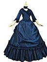 One-piece/Klänning Gotisk Lolita Klassisk/Traditionell Lolita Elegant Victoriansk Rokoko Prinsessa Vintage-inspirerad Cosplay