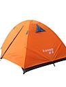 2 personnes Tente Double Une piece Tente de camping Aluminium PolyurethaneEtanche Respirabilite Resistant a la poussiere Resistant au