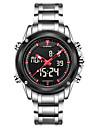 Bărbați Ceas Sport Ceas Militar Ceas Elegant Ceas La Modă Ceas de Mână Ceas digital Quartz Piloane de Menținut Carnea Calendar Aliaj Bandă