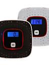 affichage LCD co monoxyde de carbone du detecteur d\'alerte testeur de gaz empoisonnement du capteur d\'alarme de gaz de fumee de la voix