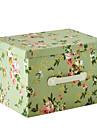 raylinedo® 26L vikbara förvaringsbox kläder filt garderob tröja arrangör duk med glädje blommönster