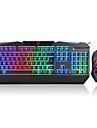 mouse-ul de birou USB 1600 tastatura de gaming tastatură ergonomică tastatura de birou USB iluminare din spate cu mai multe culori