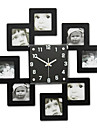 Moderne/Contemporain Bureau / Affaires Famille Ecole/Diplome Amis Horloge murale,Nouveaute Cristal Metal 45*45 Interieur Horloge