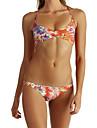 Femei Bikini Femei Bustieră Floral Polyester