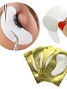 10 paires papier patchs cils sous tampons oculaires fouettent conseils correctifs de papier d\'extension de l\'oeil de cils autocollant