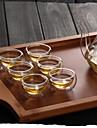 Transparent Klassisk Dryckesaccessoarer, 30 ml Värmeisolerad dubbel Vägg Glas Te Tekoppar