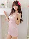 Feminin Capoate / Ultra Sexy / Costume Pijamale Mătase de Gheață Solid Roz