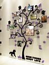 Botanique Stickers muraux Autocollants muraux 3D Autocollants muraux decoratifs,Vinyle Materiel Decoration d\'interieur Calque Mural
