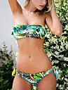 Dame Poliester Bustieră,Bikini Floral Imprimeu