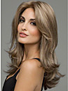 brune sexy avec un melange blond longue resistant a la chaleur perruque de cheveux complete