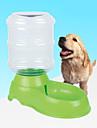 hund skålar och vattenflaskor djurskålar och utfodring 2500 ml grön plast
