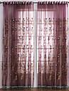 Deux Panneaux Le traitement de fenetre Neoclassique Chambre a coucher Polyester Materiel Rideaux opaques Decoration d\'interieur For