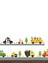 Animaux Mode Transport Stickers muraux Autocollants avion Autocollants muraux decoratifs,Vinyle Materiel Decoration d\'interieurCalque