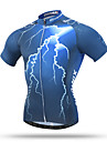 XINTOWN Femme Homme Unisexe Manches courtes Velo Hauts/Tops Sechage rapide Respirable Poche arriere Anti-transpiration Confortable